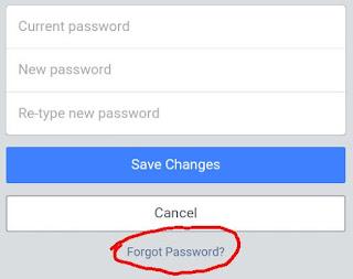 फेसबुक पासवर्ड पता कैसे करे