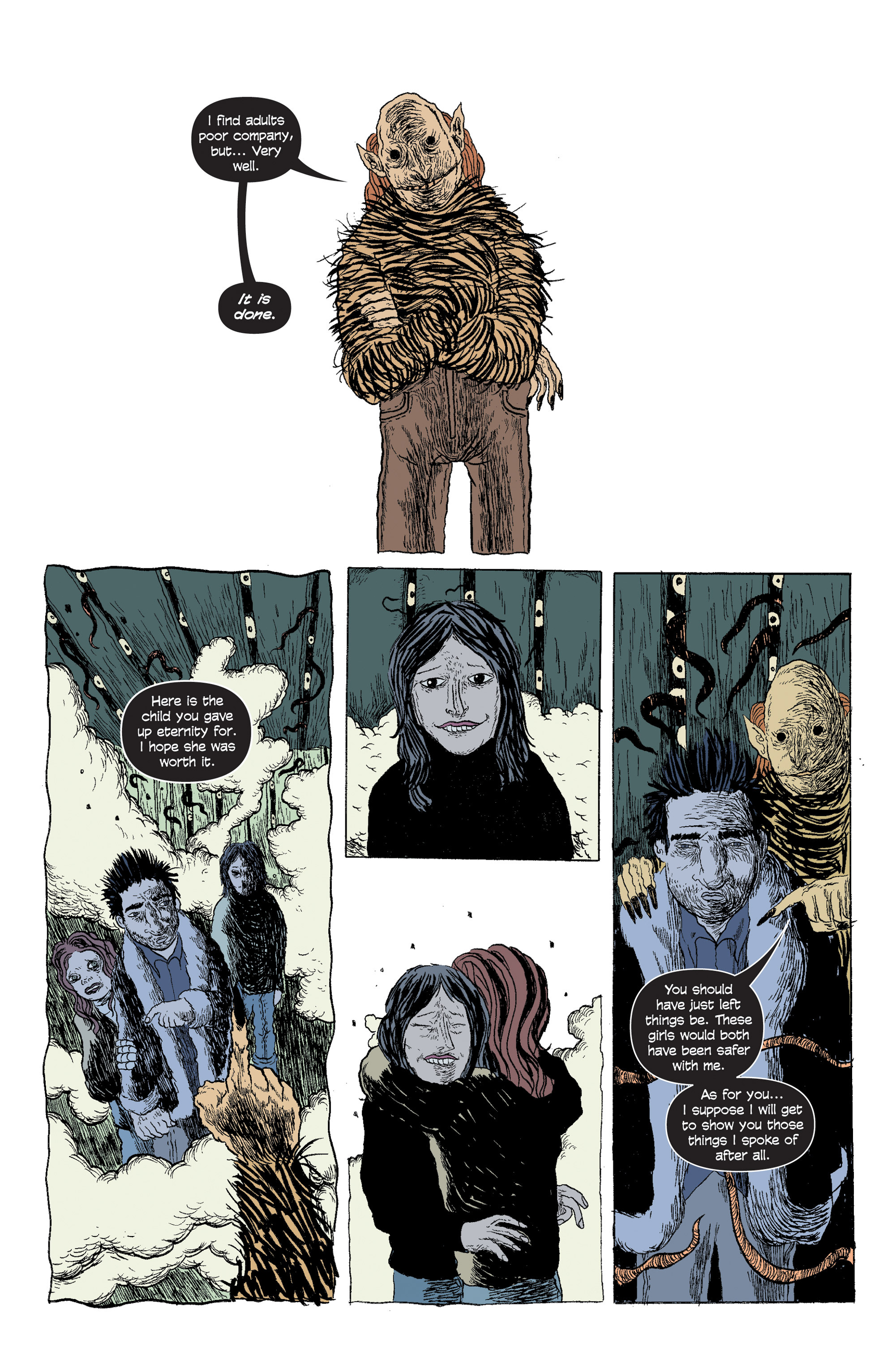 Read online And Then Emily Was Gone comic -  Issue #5 - 16