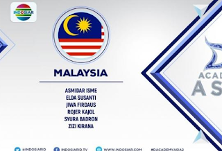 Wakil peserta Dangsut Academy Asia 2 asal Malaysia