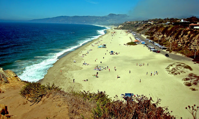 Zuma Beach em Malibu Los Angeles
