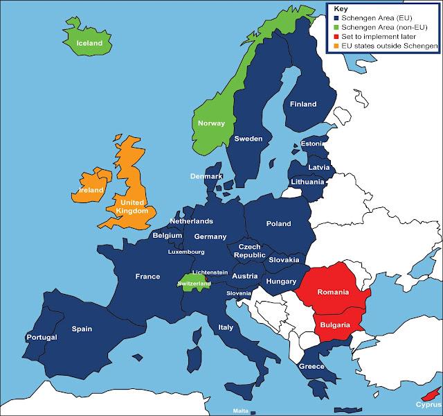 Resultado de imagem para acordo schengen brasil