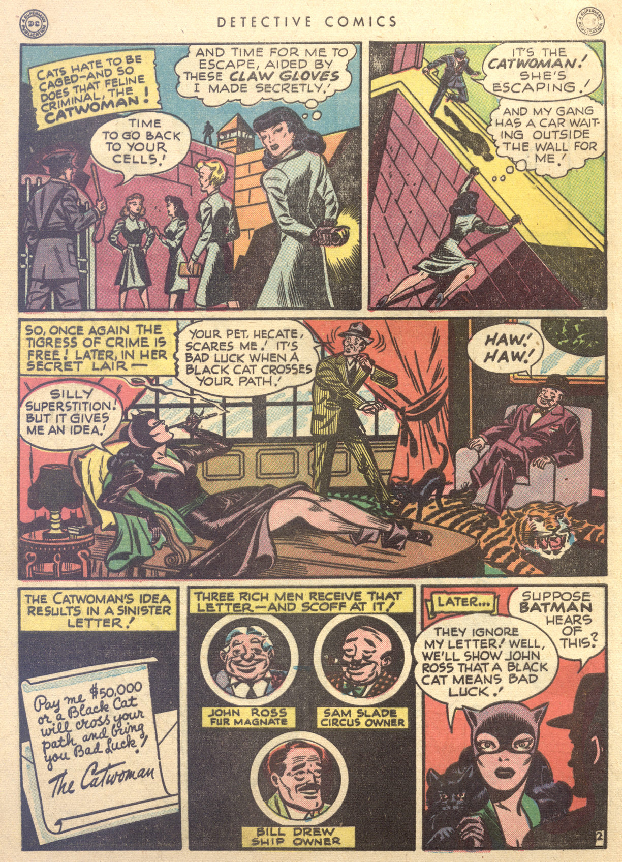 Read online Detective Comics (1937) comic -  Issue #122 - 4