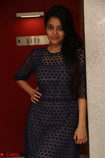 Dazzling Janani Iyer New pics in blue transparent dress spicy Pics 029.jpg