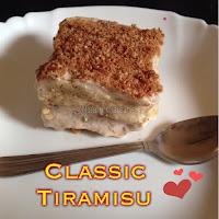 Tiramisu,Italian Tiramisu