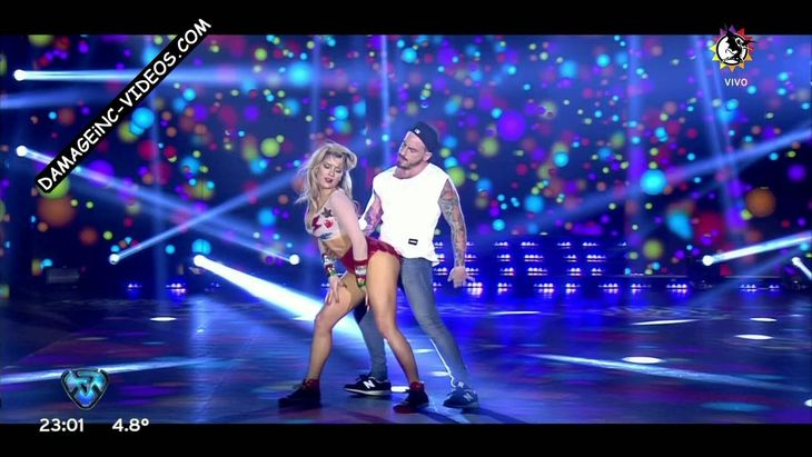 Laura Fernandez hot dance in shorts Damageinc Videos HD