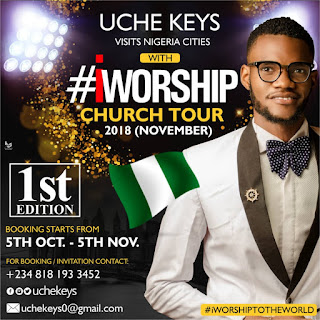 iWorship Church Tour with Uche Keys (Booking details)