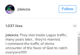Romantic Tale Of A Couple Who Met In Lagos Traffic And Are Now Happily Married - Photos