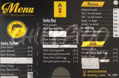 ayam geprek, ayam, geprek, sate,satay,cupu,satay_cupu,mama cupu,cupu,mama,mom,kitchen,homemade,resep rumahan,kuliner surabaya,indonesia,foodies,review,menu,harga,surabaya timur,kuliner surabaya timur, SATAY CUPU & MAMA CUPU,chippeido,kuliner promo,2017,31 desember 2017,menu harga sate taichan,sate taichan surabaya
