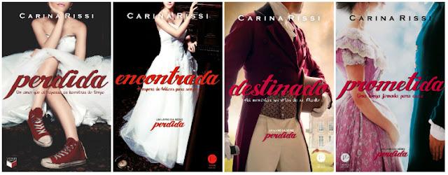 Wishlist Literaria - Romances de Época - Série Perdida - Carina Rissi (Editora Verus)