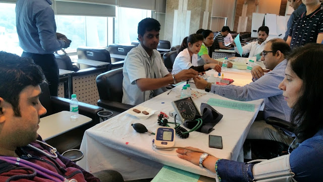 Emaar India organised Blood Donation Camp in Gurugram in collaboration with Indian Red Cross Society