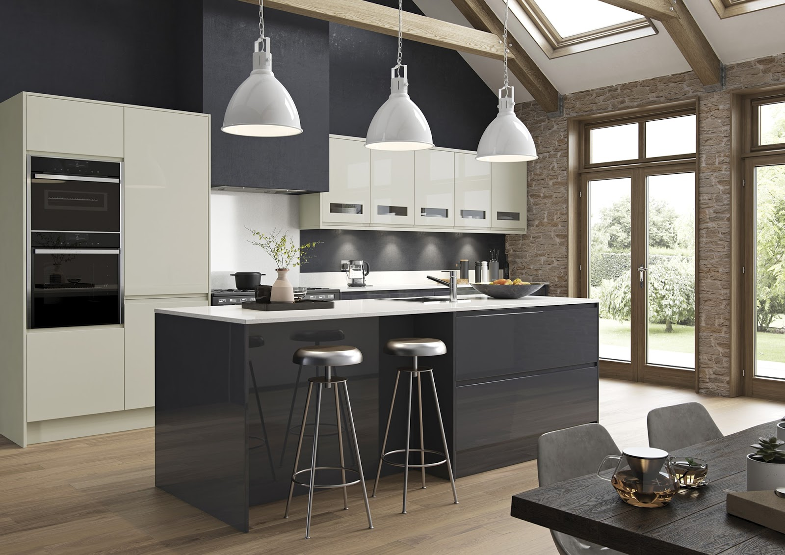 https://www.kitchenstori.com/kitchen-collection/strada-gloss-porcelain-graphite