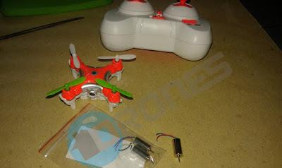 Cara Mengganti Motor Drone Cheerson CX-10 - OmahDrones
