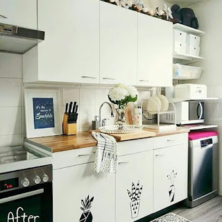dapur minimalis kompor tanam
