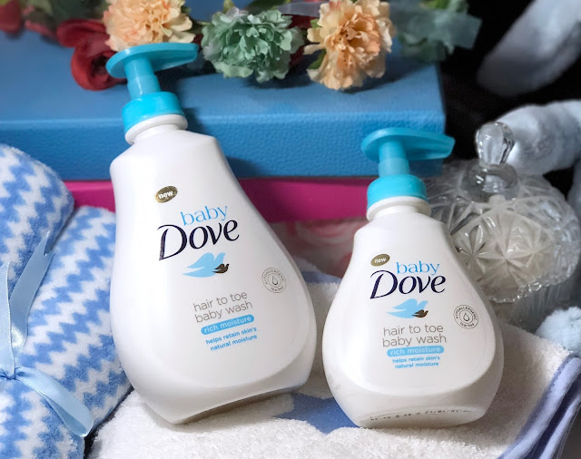 a photo of Baby Dove Rich Moisture and Sensitive Moisture Review