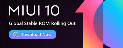 Download MIUI 10 Global Stable ROM Redmi Note 4/4X