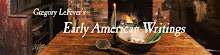 Early American Life Writings by Gregory LeFever