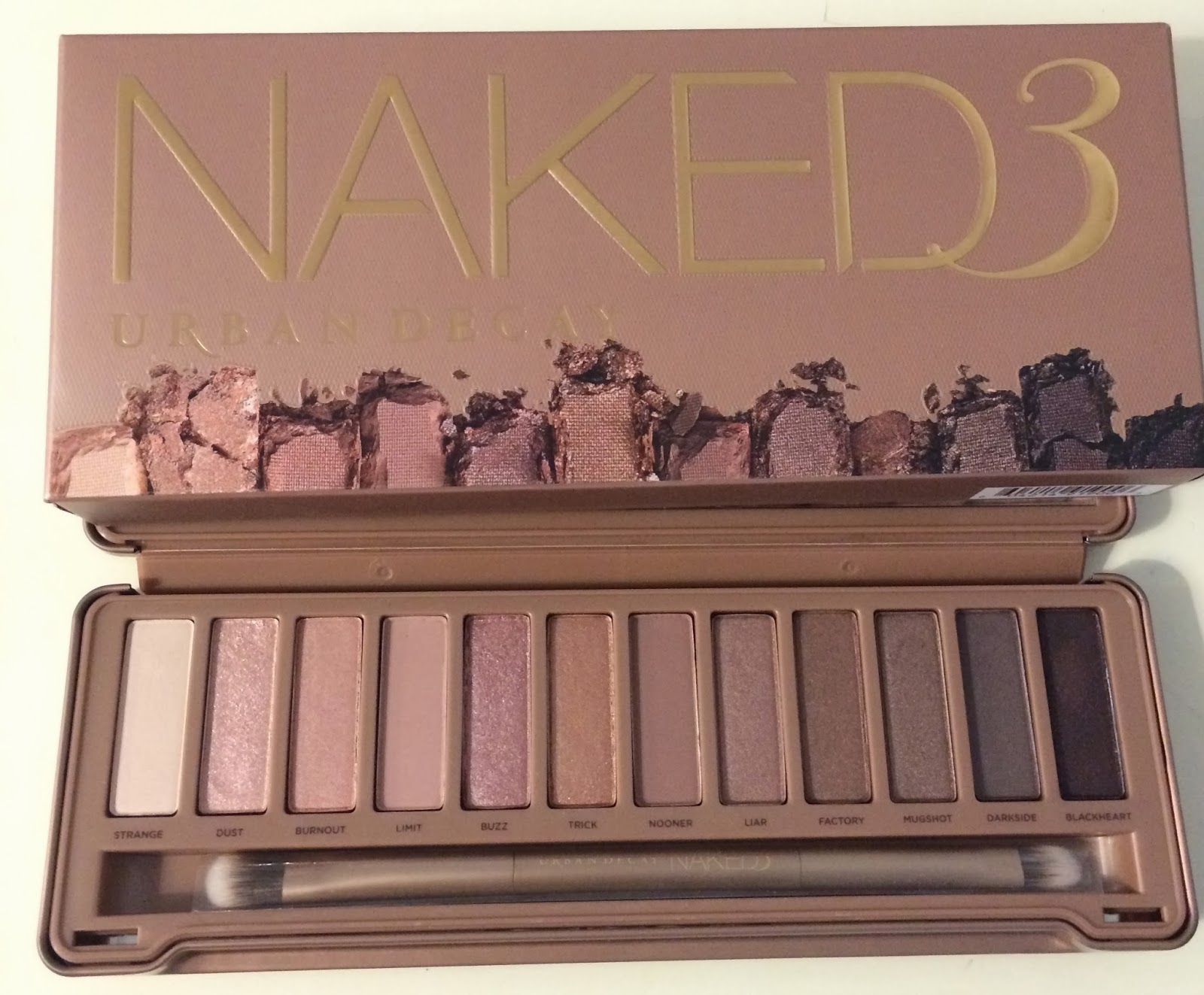 Urban Decay Naked 3 Palette  Kellilash-4324