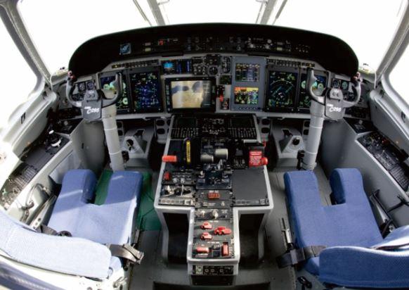 Airbus C295 cockpit