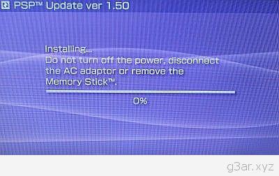 How To Downgrade PSP v2.00 firmware to v1.50 11