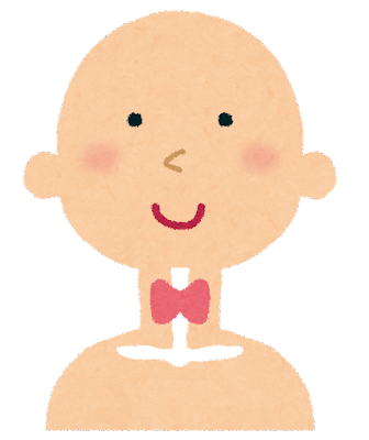 甲状腺のイラスト(人体)