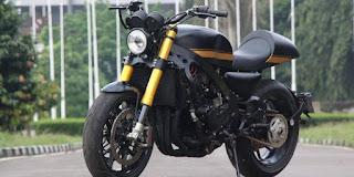 MOTOR KUSTOM : Modifikasi CBR600 Honda Cafe Racer