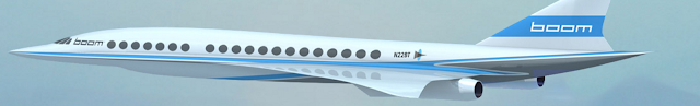 Virgin partnering with Boom Aerospace for a 40 seat mach 2.2 supersonic commerical jet