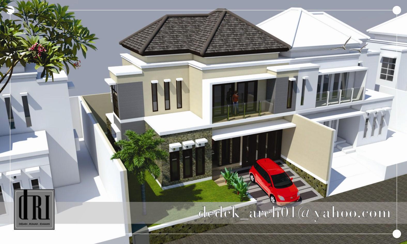 desain rumah type 100 idaman 4
