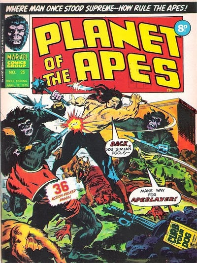 Apeslayer, Planet of the Apes #25