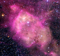 N 164 Nebula in the Large Magellanic Cloud