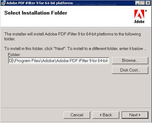 install ifilter on sharepoint 2010