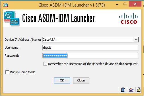 Ryan Betts, Cloud Solutions Architect: Cisco ASA's Part 2: Enabling