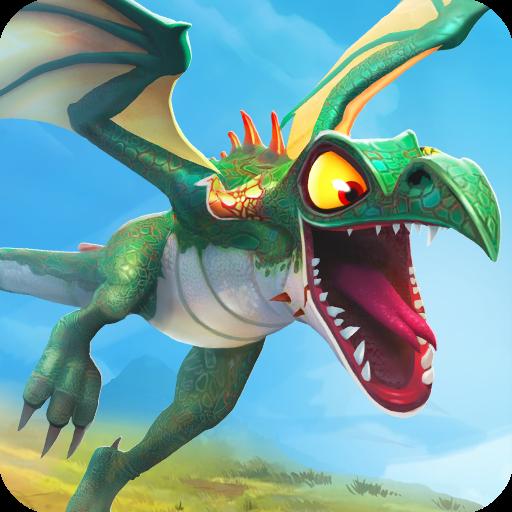 تحميل لعبة Hungry Dragon™ v1.8 مهكرة للاندرويد جواهر وأموال لا تنتهي
