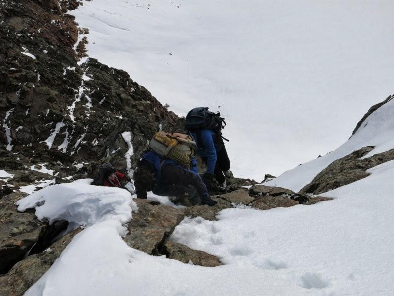 Klettern am Nordostgrat