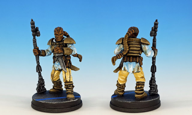 Weequay Pirates, Imperial Assault (2016), painted miniature