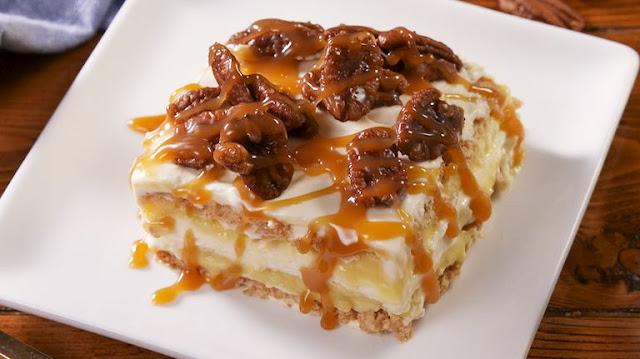 Pecan Pie Lasagna
