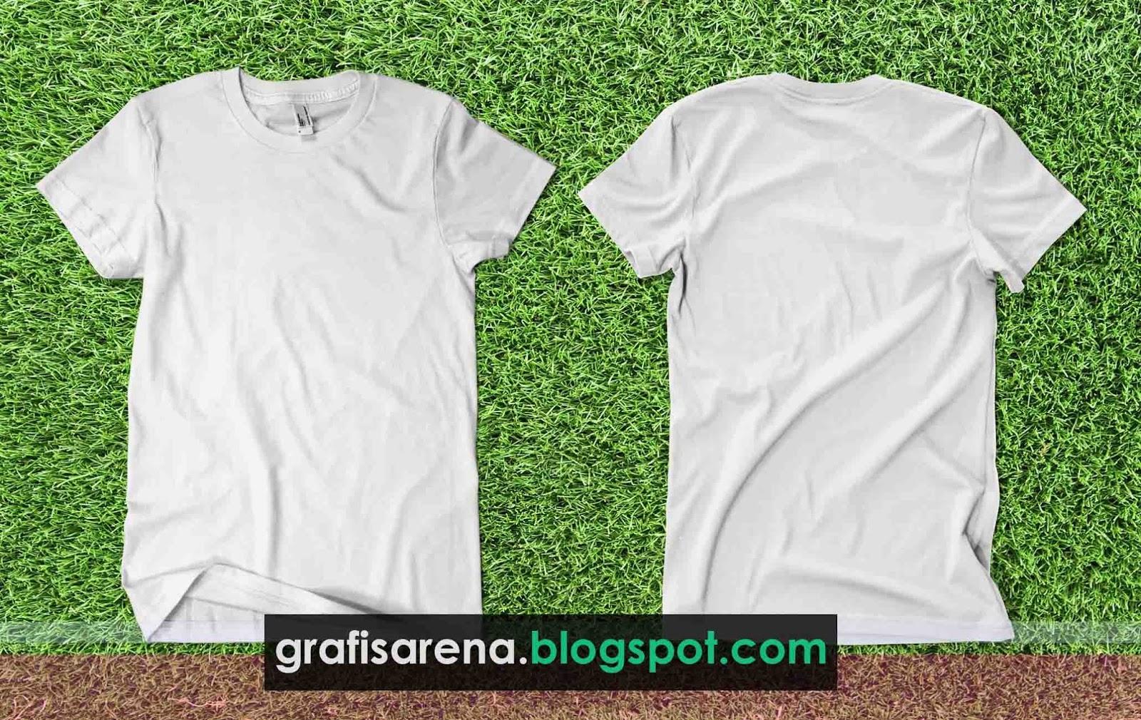 Download 16+ Inspirasi Populer Mock Up Kaos Polos Depan Belakang Cdr