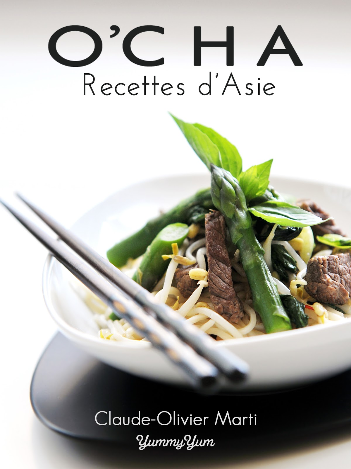 Et si j'écrivais un livre culinaire ? Je vous présente O'cha !