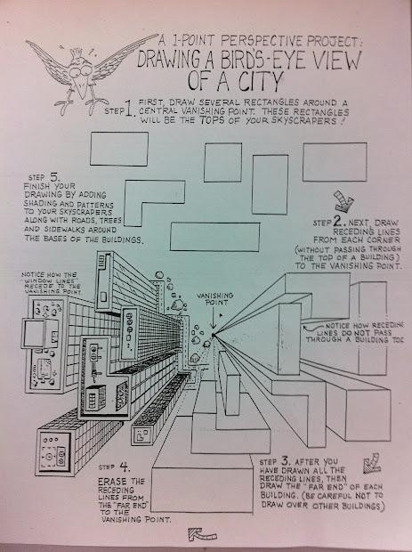 Bucktown Art Perspective Worksheets
