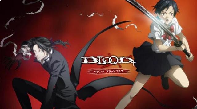 Blood + - Daftar Rekomendasi Anime Action Romance Terbaik
