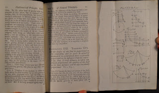 An open book of printed text with a fold-out diagram.