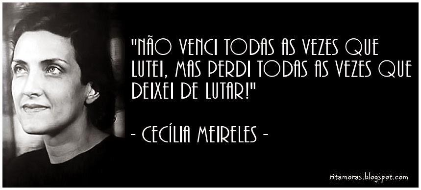 Frases De Cecília Meireles Sobre A Vida