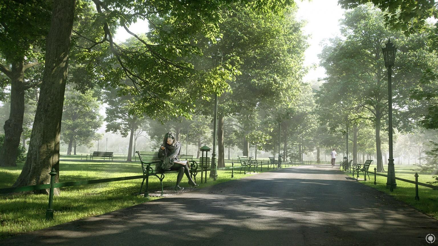 Fabulous Evermotion Launches Arch Viz Contest 2016 The Secret Garden Andrewgaddart Wooden Chair Designs For Living Room Andrewgaddartcom