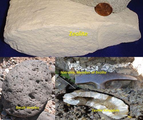 Zeolit adalah mineral, bukan batuan