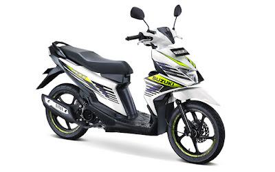 Spesifikasi Suzuki Nex II 2018 dan Harga Terbarunya
