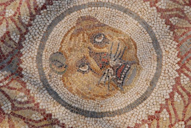 une des innombrables mosaïques de la villa Casale