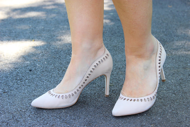 Chaussures Minelli, escarpins rose, heels, les petites bulles de ma vie