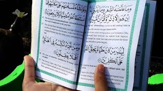 Membaca yasin dapat menghapus dosa-dosa kecil