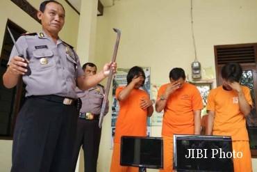 Oknum Kades di Kebumen Jadi Tersangka Pencurian Minimarket