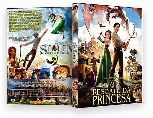 CAPA DVD – O Resgate Da Princesa AUTORADO