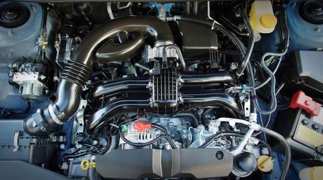 2017 Subaru Crosstrek Engine